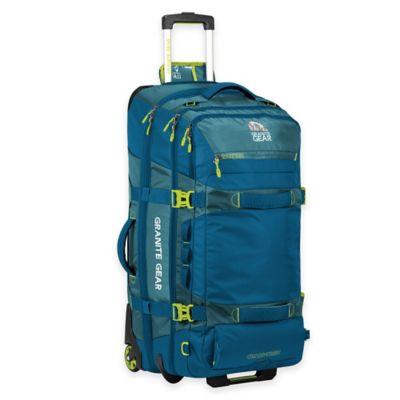 Granite Gear Cross Trek 32-Inch Rolling Duffle Bag in Blue