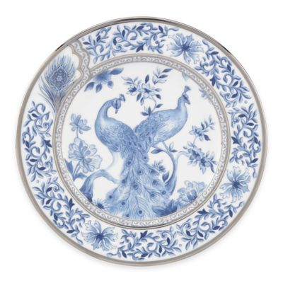 Marchesa by Lenox® Couture Sapphire Plume Salad Plate