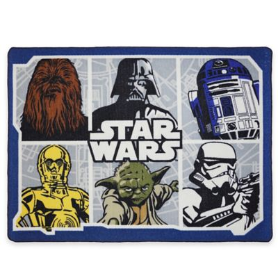 Star Wars™ 3-Foot 4-Inch x 4-Foot 6-Inch Classic Area Rug
