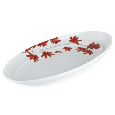 Mikasa® 18-Inch Oval Platter in Pure Red