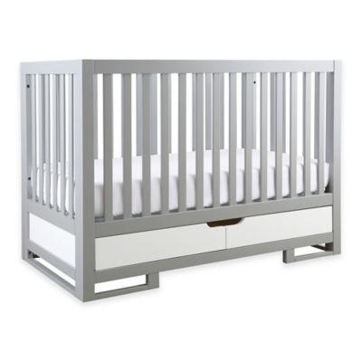 Karla Dubois® OSLO 3-in-1 Convertible Crib in Moon Grey/Pure White