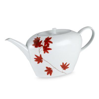 Mikasa® 1-Quart Teapot in Pure Red