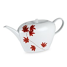 Mikasa® 1-Quart Teapot in Pure Red