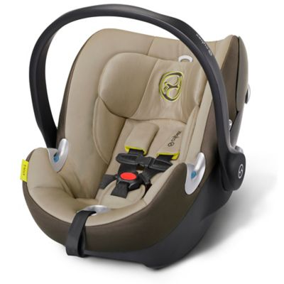 Cybex Platinum Aton Q 2015 Infant Car Seat with Load Leg Base in Limestone