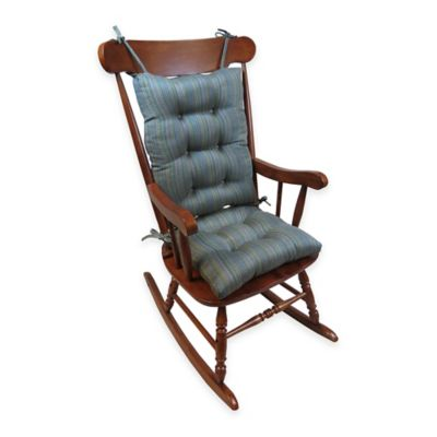 Klear Vu Scion Universal Extra-Large 2-Piece Rocking Chair Pad Set in Java