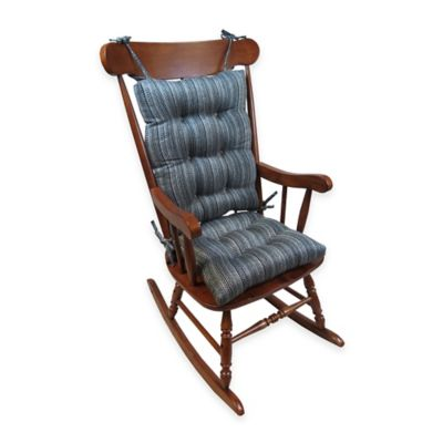 ... Vu Scion Universal Extra-Large 2-Piece Rocking Chair Pad Set in Grey