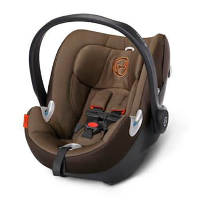 Cybex Platinum Aton Q 2015 Infant Car Seat with Load Leg Base in Coffee Bean