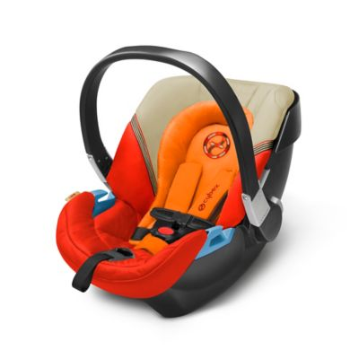 Cybex Gold Aton 2 Infant Car Seat in Autumn Gold