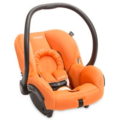 Infant Car Seat in Orange