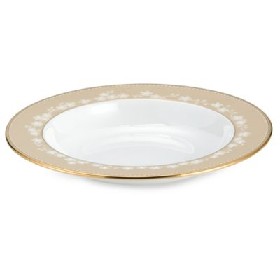 Lenox® Bellina® Gold 9-Inch Rim Soup Bowl