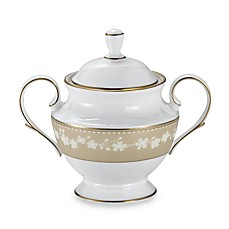 Lenox® Bellina® Gold Sugar Bowl with Lid