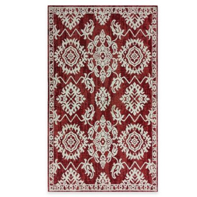 Temptation Scatter 2-Foot x 3-Foot 8-Inch Accent Rug in Ruby