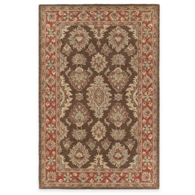 Kaleen Khazana Negril 5-Foot x 7-Foot 9-Inch Area Rug in Coffee