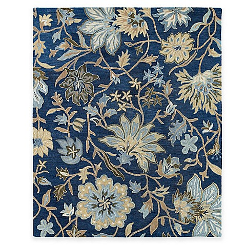 Kaleen Brooklyn Brody Rug In Blue Www Bedbathandbeyond Com