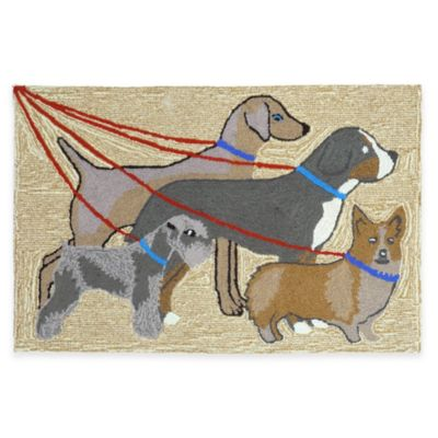 Trans-Ocean 20-Inch x 30-Inch Dog Walk Door Mat