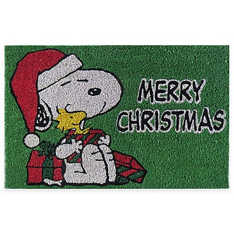 Peanuts 174 Snoopy Quot Merry Christmas Quot 18 Inch X 28 Inch Door