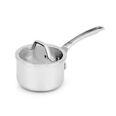 Calphalon® Signature™ Stainless Steel 1 qt. Covered Saucepan