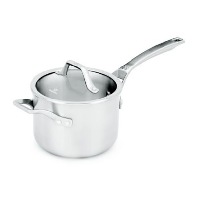 Stainless Steel 3 qt Saucepan