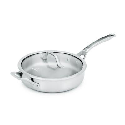 Calphalon® Signature™ Stainless Steel 3 qt. Covered Sauté Pan