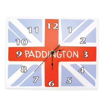 Trend Lab® Paddington Bear™ Union Jack Clock