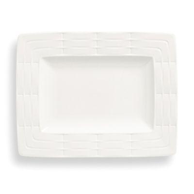 Lenox® Entertain 365 Sculpture Rectangular Accent Plate