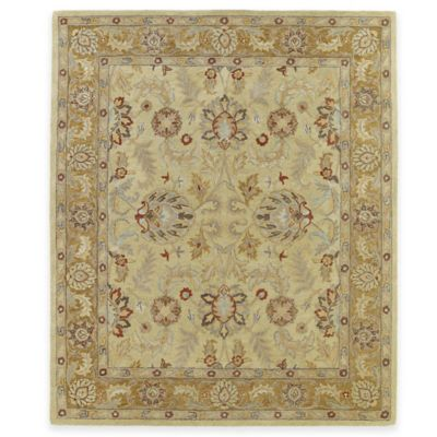 Kaleen Solomon Joab 8-Foot x 10-Foot Area Rug in Gold