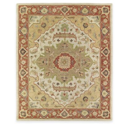 Kaleen Solomon Micah 8-Foot x 10-Foot Area Rug in Gold