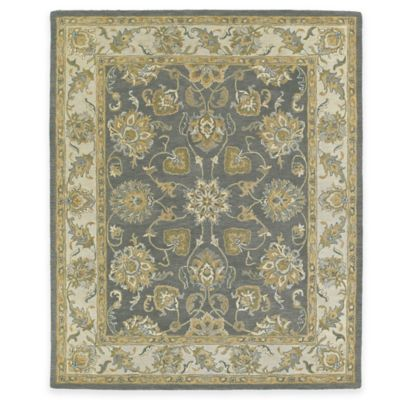 Kaleen Solomon Ezekiel 2-Foot x 3-Foot Accent Rug in Pewter