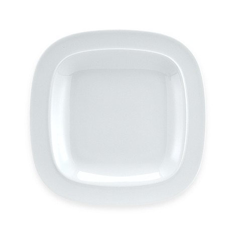 Denby Square 9 1/2-Inch Salad Plate in White