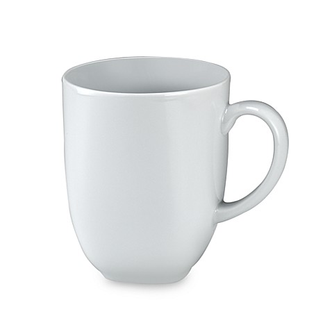 Denby Square Mug in White