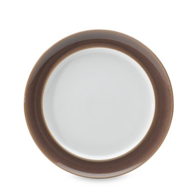 Denby Truffle 11-Inch Wide-Rimmed Dinner Plate