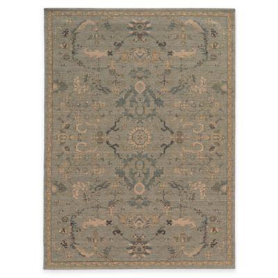 Oriental Weavers Heritage Oriental 2-Foot 7-Inch x 9-Foot 4-Inch Runner in Blue
