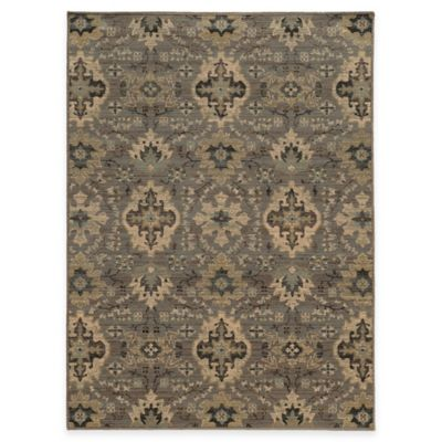 Oriental Weavers Heritage 7-Foot 10-Inch x 10-Foot 10-Inch Rug in Blue