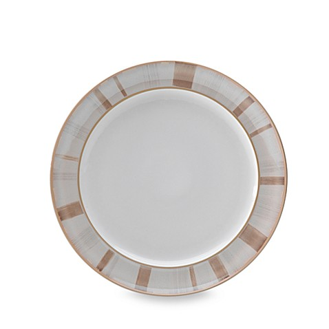 Denby Truffle Layers 11-Inch Wide-Rimmed Dinner Plate