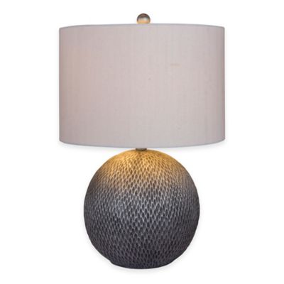 Fangio Lighting 23-1/2 Inch Resin Table Lamp in Brilliant Gold Finish