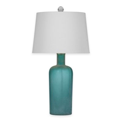 Bassett Mirror Company Sumter Table Lamp in Blue