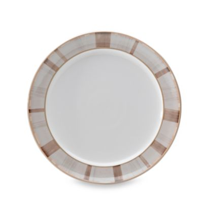 Denby Truffle Layers 9 3/4-Inch Wide-Rimmed Dessert/Salad Plate