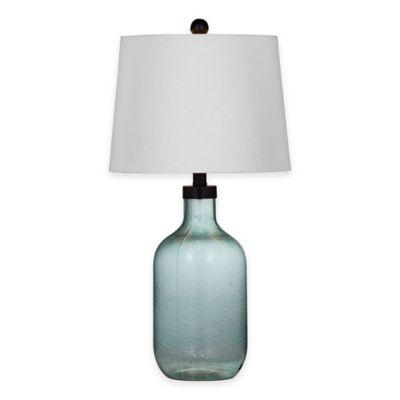 Bassett Mirror Company Savannah Table Lamp in Blue