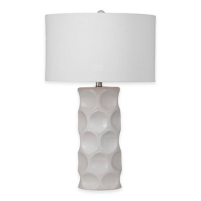 Bassett Mirror Company Casey Table Lamp in Cream