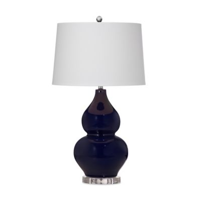 Bassett Mirror Company Grant Table Lamp in Navy