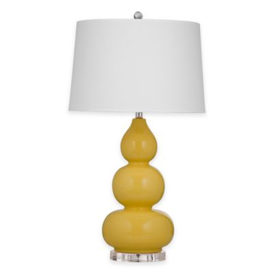 Bassett Mirror Company Kinley Table Lamp in Sunflower
