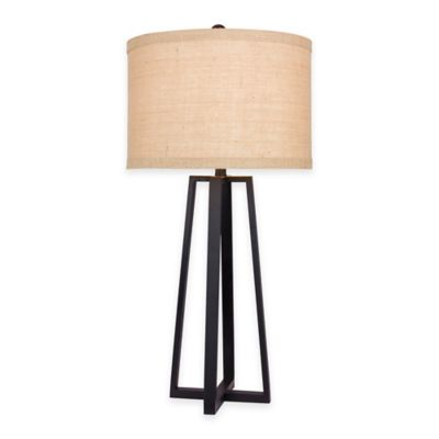 Fangio Lighting 33-Inch Table Lamp in Black