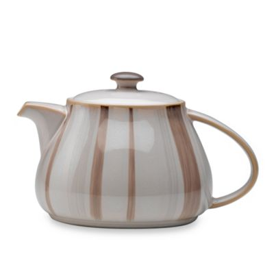 Denby Truffle Layers 40-Ounce Teapot