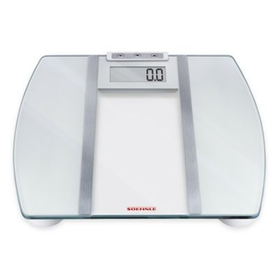 Soehnle Body Control Signal F3 Digital BMI Scale in White