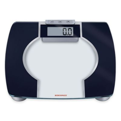 Soehnle Body Control Contour F3 Digital BMI Bathroom Scale in Anthracite