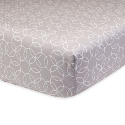 Trend Lab® Circles Fitted Crib Sheet