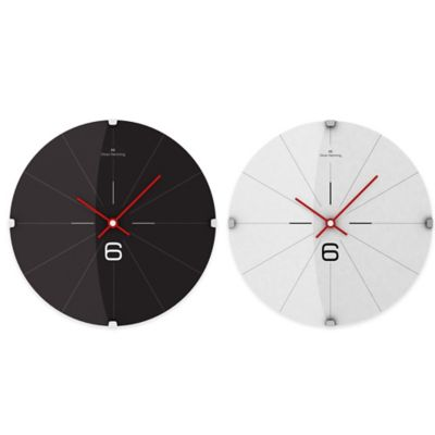 Black Stainless Wall Clock