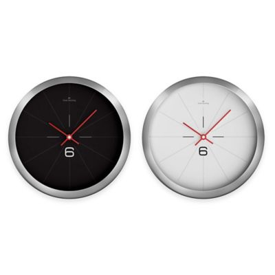 Black & Chrome Clocks