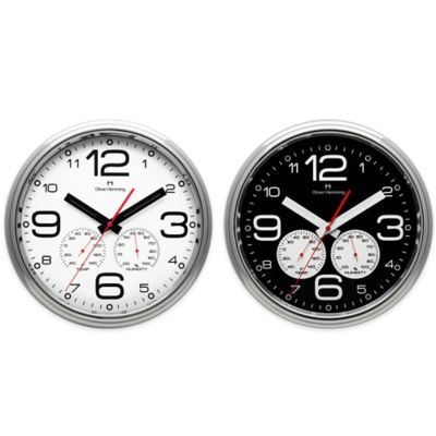 Oliver Hemming Garage Clock Wall Clocks