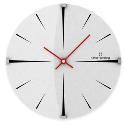Oliver Hemming Vitri Domed Glass Wall Clock